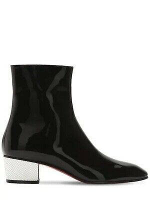 5a497599a40a NIB Christian Louboutin Kiss Me Gena 85 OTK Over Knee Black Leather Boots  42 NEW.  995.00 Buy It Now 17d 15h. See Details. Christian Louboutin Black  Leather ...