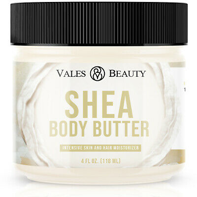 Raw African Shea Butter Ivory Organic 4 oz For Dry Skin Eczema & Psoriasis
