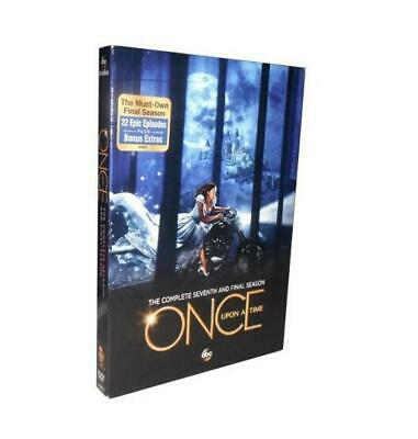 Once Upon a Time Season 7 (DVD  ,5-Disc Set) Brand New Sealed