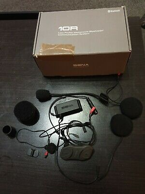 SENA 10R Motorcycle Bluetooth Headset & Intercom with Bar remote