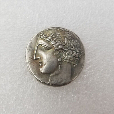 Ancient Alexander III The Great Greek Coin 336-323 BC Silver Plated Drachm SK002