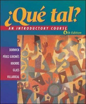 Que Tal? : An Introductory Course  (ExLib)