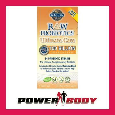 Garden of Life - Raw Probiotics Ultimate Care - 30 vcaps
