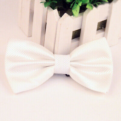 #10 Tuxedo Party Novelty Mens Bowtie Adjustable Tie Solid Color Necktie Classic