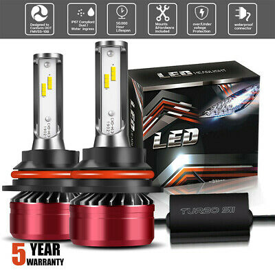 9007 HB5 LED Headlight DOT Bulbs Hi/Lo Beam Conversion For Dodge Grand Caravan