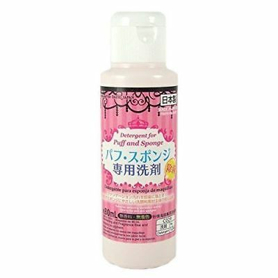 NEW Daiso Detergent Cleaning for Markup Puff and Sponge 80ml from Japan F/S