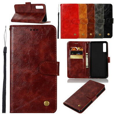 Premium Leather Flip Case Magnetic Wallet Stand Cover ForXiaomi Redmi Note 6 Pro