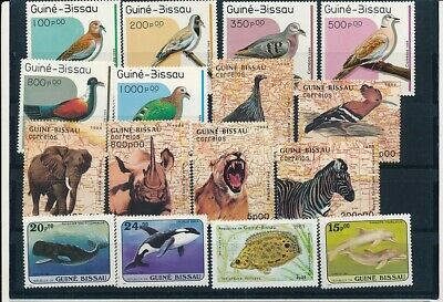 D247712 Guinea Bissau Nice selection of MNH stamps