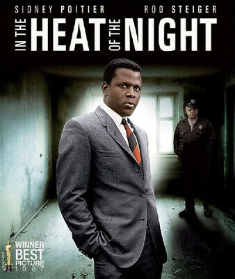 In the Heat of the Night (1967 Sidney Poitier) BLU-RAY NEW