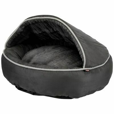 TRIXIE Grotte pour Chats Timber Anthracite Lit Panier Corbeille Maison Chat
