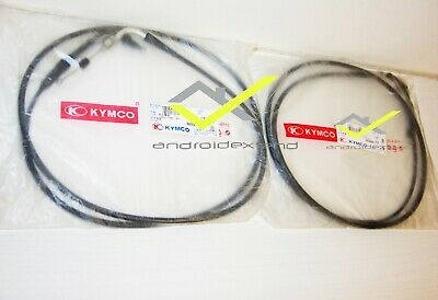 KYMCO DOWNTOWN 350i THROTTLE CABLES (2PCS!)