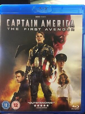 Marvel MCU: Captain America. The First Avenger (blu ray)