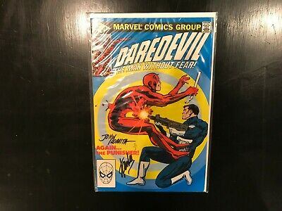 Daredevil 183, Signed by Stan Lee and John Romita, Dynamic Forces, Sealed