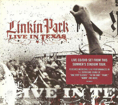Linkin Park ‎– Live In Texas (CD & DVD)