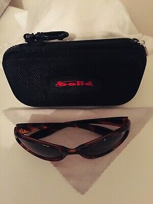 Kids Bolle Sunglasses In Hard Case  Face Nearly New Worn Once