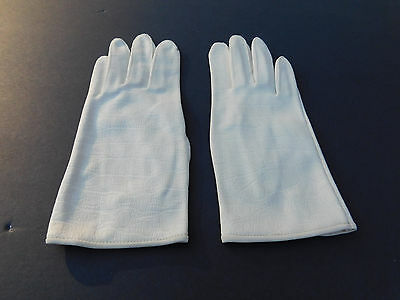 **Hansen Ladies Cream Nylon Dress Gloves Unlined Size 6