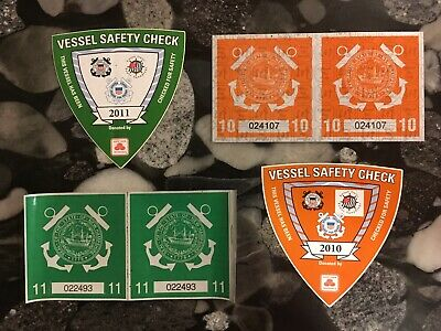2010 2011 Nh. New Hampshire Boatt License Stickers Tags License Plate Watercraft
