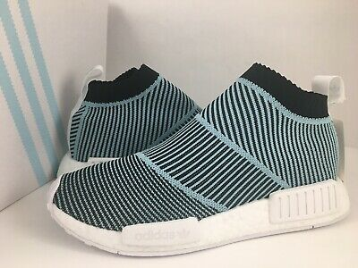 3ca8143c7ed9f New Adidas Nmd Cs1 Parley Primeknit Pk City Sock Blue Shoe Ac8597 Men Size  7.5