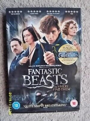 Fantastic Beasts And Where To Find Them Dvd. New & Sealed + Download. ******