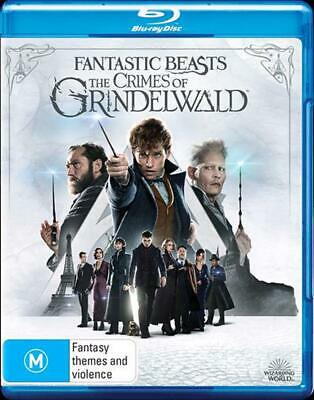 Fantastic Beasts - The Crimes Of Grindelwald - Blu Ray Region B Free Shipping!