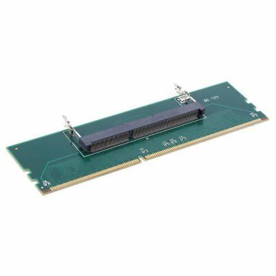 Green DDR3 Laptop SO DIMM to Desktop DIMM Memory RAM Connector Adapter Card D9