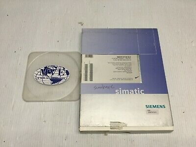 Siemens 6Es7852-2Cc00-0Ya5 Simatic D7-Es V6.2 Engineering Software