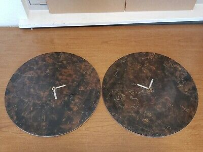 """2 Used Lapping Plates 14.5"""" DIAMETER INDUSTRIAL LABORATORY Shandon 5 #6 and #1"""