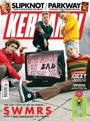 Kerrang magazine 1760 16th February 2019 SWMRS on the cover