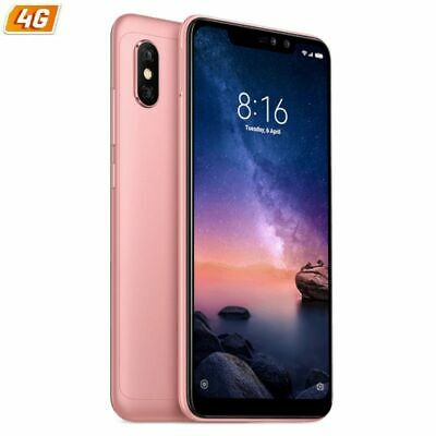 "Smartphone Móvil Xiaomi Redmi Note 6 Pro Rose Gold - 6.26""/15.9Cm - Oc 1.8Ghz -"