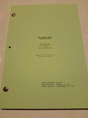 The Hunger Games Catching Fire script, final shooting script screenplay complete