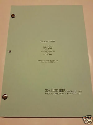 The Hunger Games script, final shooting script screenplay (promo complete)
