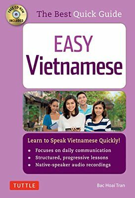Easy Vietnamese: Learn to Speak Vietnamese Quickly! (CD-Rom included) by Tran…
