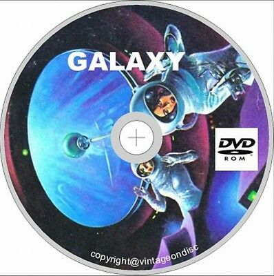Galaxy Science Fiction Magazine 255 Issues On Dvd Rom