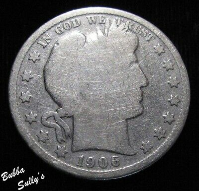 1906 O Barber Half Dollar <> GOOD