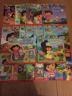 Dora The Explorer Box Set Of 20 Adventure Paperback Books Nick Jr