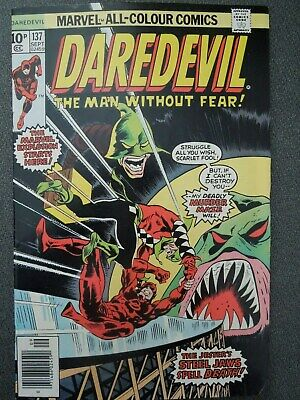 Daredevil #137 (Vol One 1976)