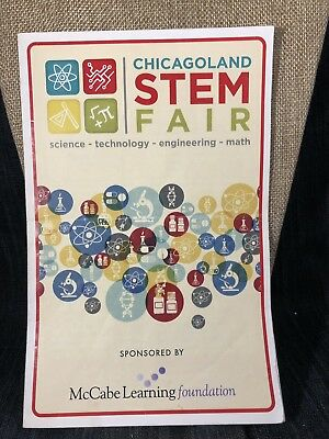 The Librarians Screen Used STEM Fair Participant Badge And Pamphlet!!