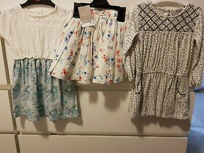 Lovely NEXT Bundle. 2 dresses and BNWT skirt. 12-18 Months