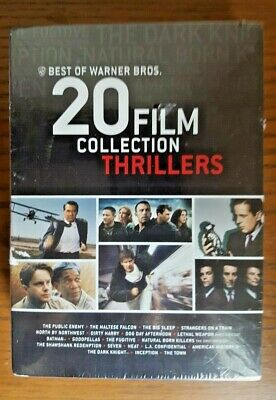 Best of Warner Bros.: 20 Film Collection - Thrillers DVD, 2013, 20-Disc Set