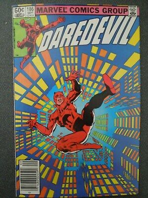 Daredevil #186 (Vol One 1982) - Frank Miller