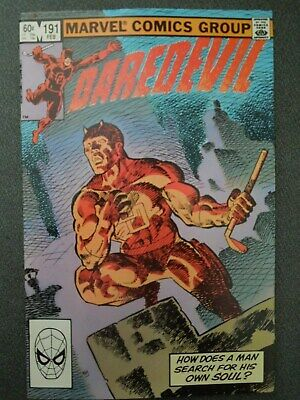 Daredevil #191 (Vol One 1983) - Last Frank Miller