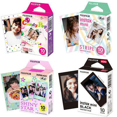 Fujifilm Instax Mini Film Fuji instant photos 7s 8 9 90 25 50 SP-2 Polaroid 300