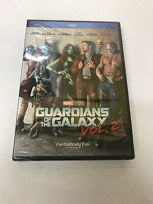 Guardians of the Galaxy Vol. 2(DVD, 2017) free shipping