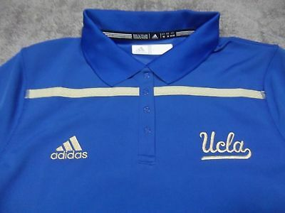 Adidas NCAA UCLA Bruins ClimaLite Sideline Performance Polo Women s ... a9ca8c911