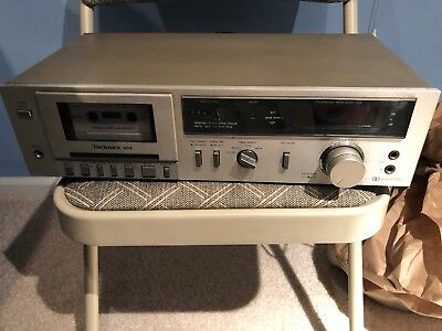Technics RS-M14 Vintage Stereo Cassette Deck Tested works great!