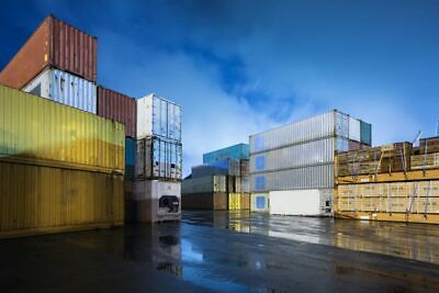 40' High Cube Shipping Container Cargo Worthy - Houston