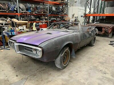 1967 pontiac firebird convertible not camaro