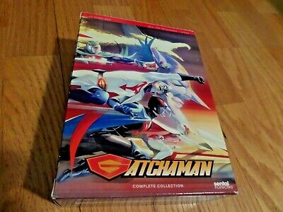 Gatchaman Anime series 22 DVD Complete Collection Battle of the Planets sentai
