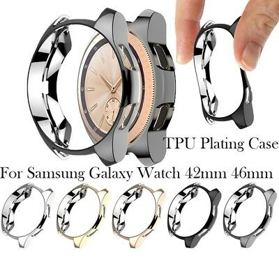 Clear TPU Full Cover Case Screen Protector For Samsung Galaxy Watch (42 / 46 mm)