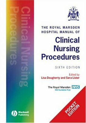 The Royal Marsden Manual of Clinical Nursing Procedures - POCKET ED... Paperback